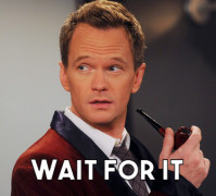 Barney Stinson: Wait for It
